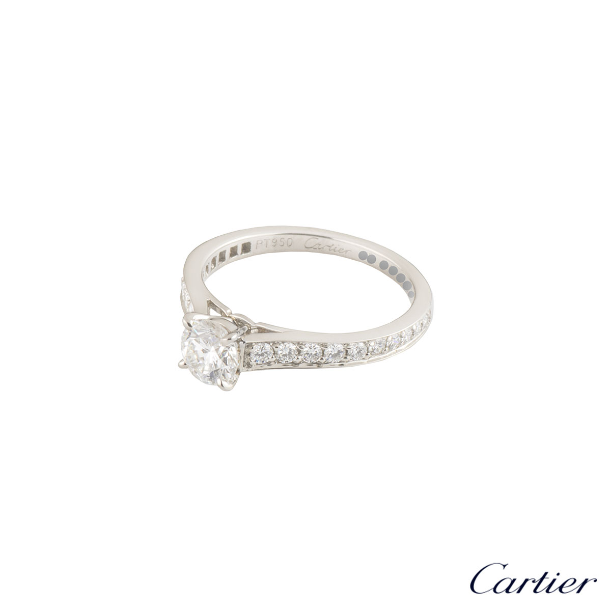 Cartier 1895 Solitaire Ring